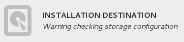 Installation destination